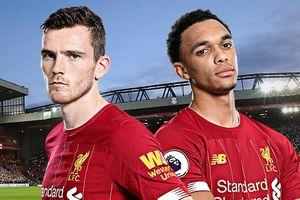 Liverpool thống trị top 10 chân chuyền hàng đầu Premier League 2019/20