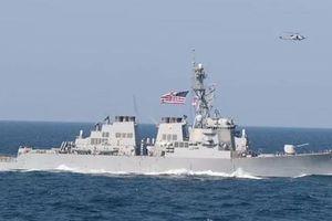 Mỹ sa thải chỉ huy tàu khu trục: Lộ vụ gian dối rúng động trong 'hành trình ma' dài 4 tiếng