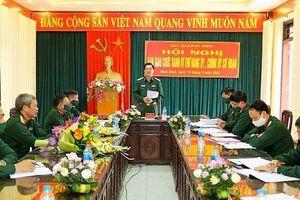 Bàn giao chức danh Bí thư Đảng ủy, Chính ủy Sư đoàn 350
