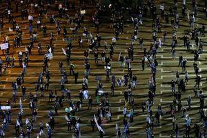 2.000 người biểu tình phản đối bế tắc chính trị tại Israel