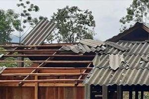 Hà Giang: Mưa đá kèm gió lốc gây nhiều thiệt hại