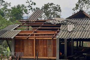 Mưa đá, dông lốc gây thiệt hại hàng tỷ đồng tại Hà Giang và Lai Châu