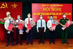 Ban Bí thư kiện toàn nhân sự, lãnh đạo mới tại Cần Thơ, Tuyên Quang