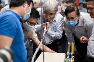 Các chuyên gia đánh giá thế nào về máy thở MV20 tặng Việt Nam chống Covid-19?