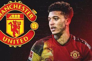 MU bán 4 cầu thủ để mua Sancho