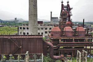 Cảnh hoang tàn ở nhà máy thép gây thất thoát nghìn tỷ