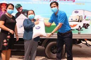 Chương trình 'CEP - Chia sẻ yêu thương' đến với người lao động Bình Dương