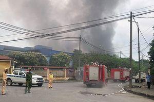Khởi tố vụ án để điều tra hỏa hoạn tại Khu công nghiệp Phú Thị