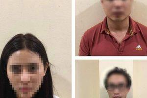 Khởi tố hotgirl trong đường dây mại dâm dùng ma túy giá 25 triệu đồng/đêm