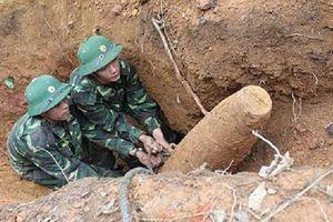 Nghệ An: Xử lý thành công quả bom nặng 150kg sót lại sau chiến tranh