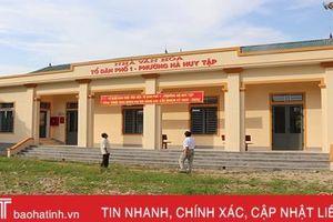 TP Hà Tĩnh thực hiện 35 công trình chào mừng đại hội Đảng các cấp