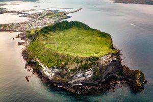 Đảo núi lửa lớn nhất Hàn Quốc