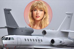 Vừa rao bán phi cơ Dassault Falcon 50, Taylor Swift giàu cỡ nào?