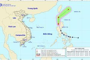 Bão Vongfong giảm cấp, khả năng suy yếu thành áp thấp nhiệt đới