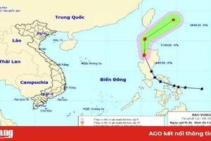 Bão Vongfong suy yếu dần thành áp thấp nhiệt đới