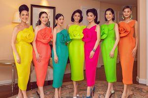 Hoa hậu Hà Kiều Anh ăn diện lộng lẫy đón tuổi mới bên dàn mỹ nhân số 1 Việt Nam