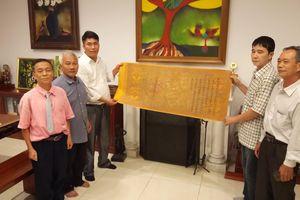 Trao lại 15 đạo sắc phong cho Hà Nam