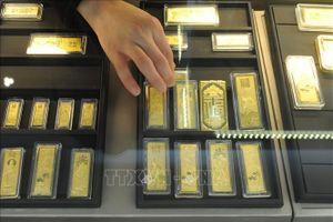Giá vàng châu Á chiều 18/5 tăng lên mức cao nhất kể từ tháng 12/2012