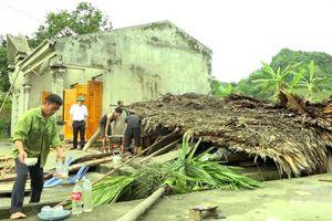 Tuyên Quang: Mưa giông khiến 1 người bị thương, hơn 200 ngôi nhà bị hư hỏng