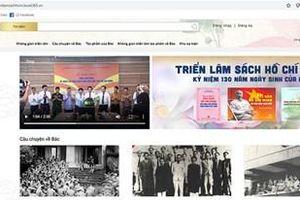 Khai mạc triển lãm sách online kỷ niệm 130 năm Ngày sinh Chủ tịch Hồ Chí Minh