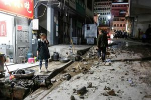 Động đất liên tiếp ở Trung Quốc, Nhật Bản