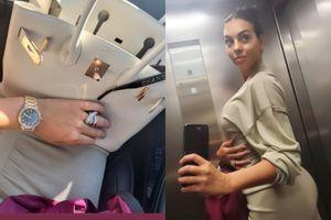 Bạn gái C.Ronaldo khoe nhẫn kim cương, nghi vấn đã đính hôn