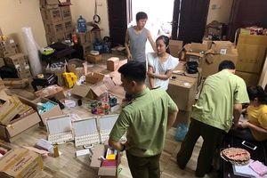 Hà Nội: Tạm giữ lô mỹ phẩm vi phạm trị giá gần 480 triệu đồng do nước ngoài sản xuất