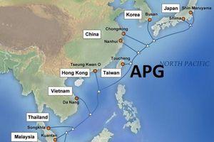 Hai tuyến cáp quang biển Việt Nam đều đang gặp sự cố