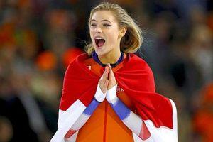 'Đứng tim' trước nhan sắc của nữ hoàng trượt băng xinh đẹp nhất Hà Lan