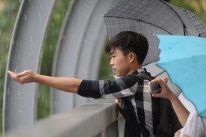 Hà Nội đón mưa giải nhiệt