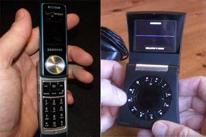10 chiếc điện thoại kỳ quặc nhất từng là 'con cưng' của Samsung