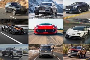 Top 10 mẫu xe có động cơ siêu khủng trong năm 2020