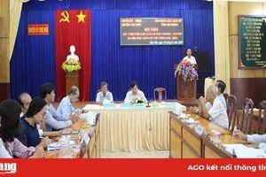 Hội thảo góp ý bản thảo 'Cù lao Ông Chưởng - Chợ Mới 320 năm hình thành và phát triển'