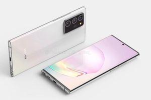 Lộ diện thiết kế của Galaxy Note20+