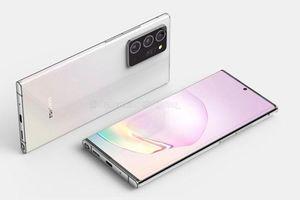 Galaxy Note 20+ thiết kế 'siêu đẹp' khiến Samfan đứng ngồi không yên