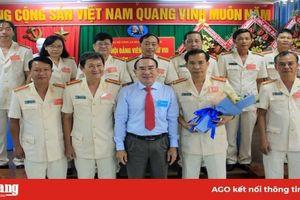 Thượng tá Đỗ Văn Mười Bốn tiếp tục làm Bí thư Đảng ủy Công an huyện Châu Thành (nhiệm kỳ 2020-2025)