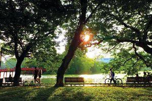 Sáng nay, thời tiết Hà Nội dịu mát hiếm hoi giữa những ngày cuối tháng 5