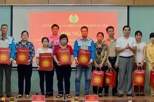 Hà Nội: Trợ cấp cho 169 công nhân bị tai nạn lao động