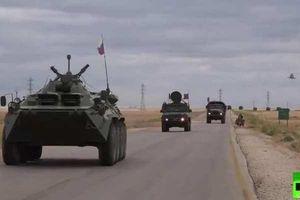 Chưa rõ mục đích đoàn xe quân sự Nga được điều tới Raqqa, Syria?