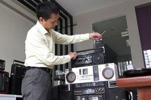 Bộ sưu tập radio cổ tiền tỷ