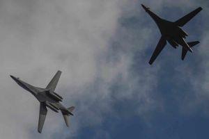 Thêm 2 'bóng ma bầu trời' B-1B bay từ Mỹ tới Biển Đông