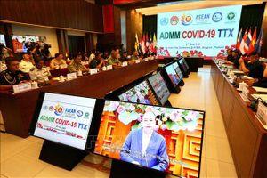 Quân y các nước ASEAN diễn tập trực tuyến cơ chế phòng, chống dịch COVID-19