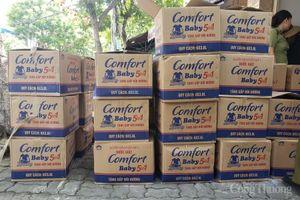 Đà Nẵng: Tạm giữ lô hàng nước giặt nghi giả mạo nhãn hiệu
