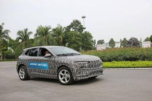 Lộ diện xe VinFast chạy điện phiên bản thử nghiệm