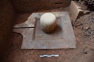 Phát hiện Linga-Yoni liền khối thế kỷ IX lớn nhất Việt Nam