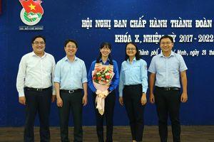Đồng chí Phan Thị Thanh Phương được bầu làm Bí thư Thành đoàn thành phố Hồ Chí Minh