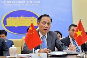 Thứ trưởng Ngoại giao trao đổi với phía TQ về diễn biến trên Biển Đông