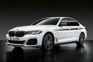 Khám phá dòng BMW 5-Series bản nâng cấp 2021