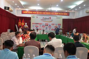 12 đội bóng tham gia Giải Futsal HDBank vô địch quốc gia 2020