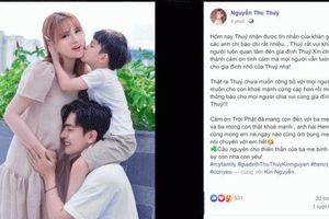 Thu Thủy chính thức xác nhận đang mang thai con thứ 2
